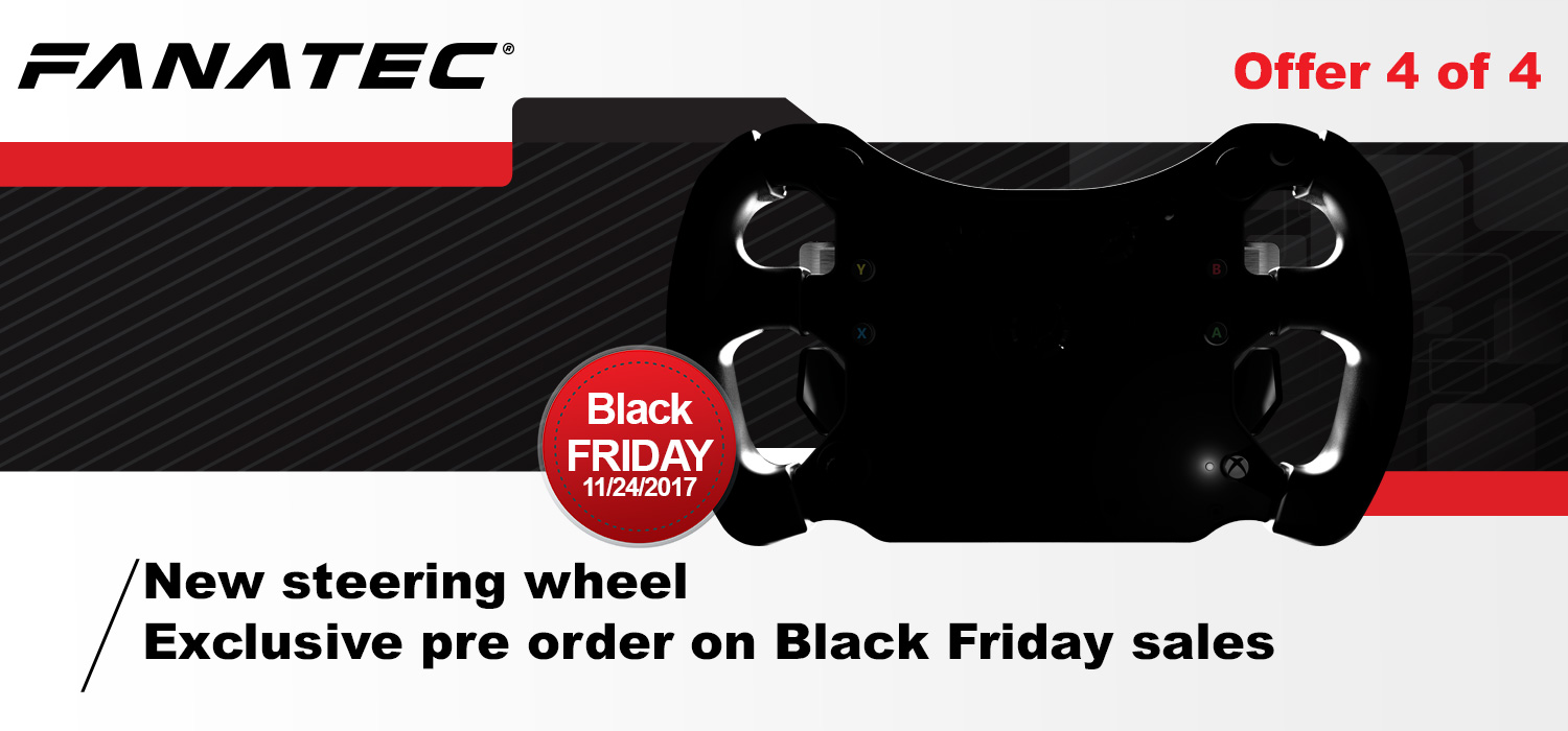 585435a0217c Our last offer is the new steering wheel which will be exclusively  available for pre-order during the Black Friday Weekend.